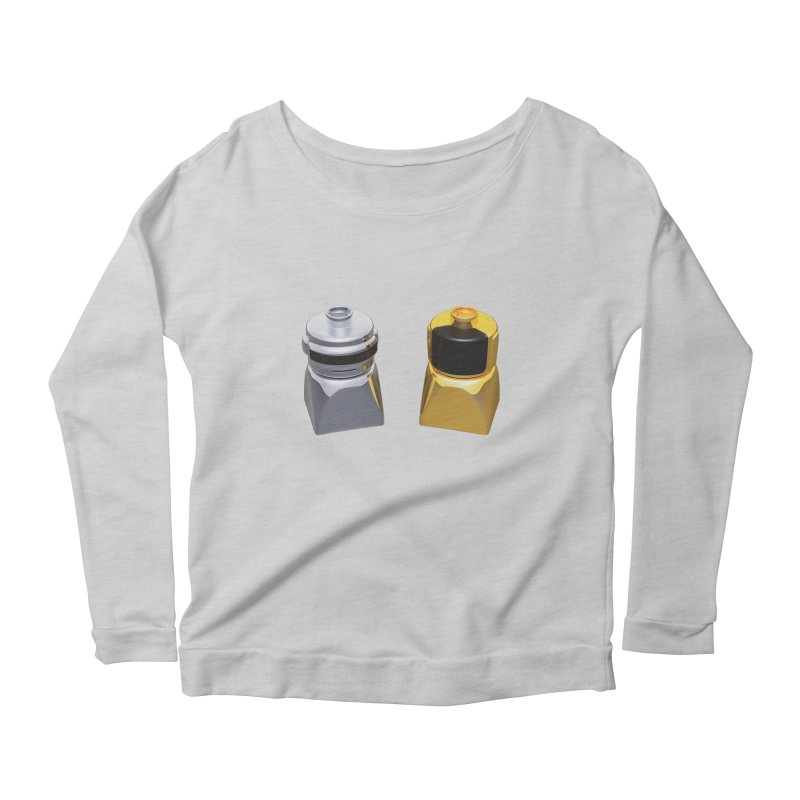 Duplo Daft Punk Women's Scoop Neck Longsleeve T-Shirt by Rickard Arvius