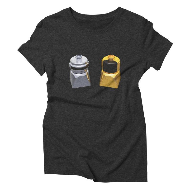 Duplo Daft Punk Women's Triblend T-Shirt by Rickard Arvius