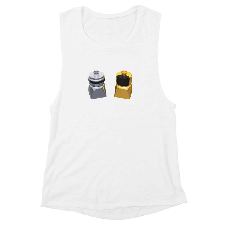 Duplo Daft Punk Women's Muscle Tank by Rickard Arvius