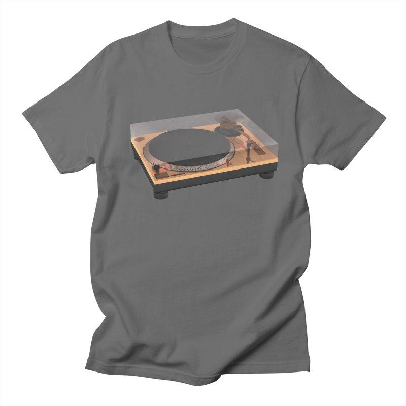 Golden Turntable Men's T-Shirt by Rickard Arvius