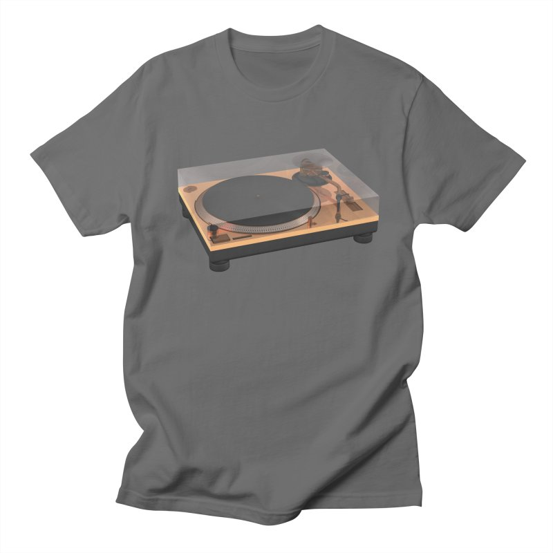 Golden Turntable Men's T-Shirt by Rickard Arvius