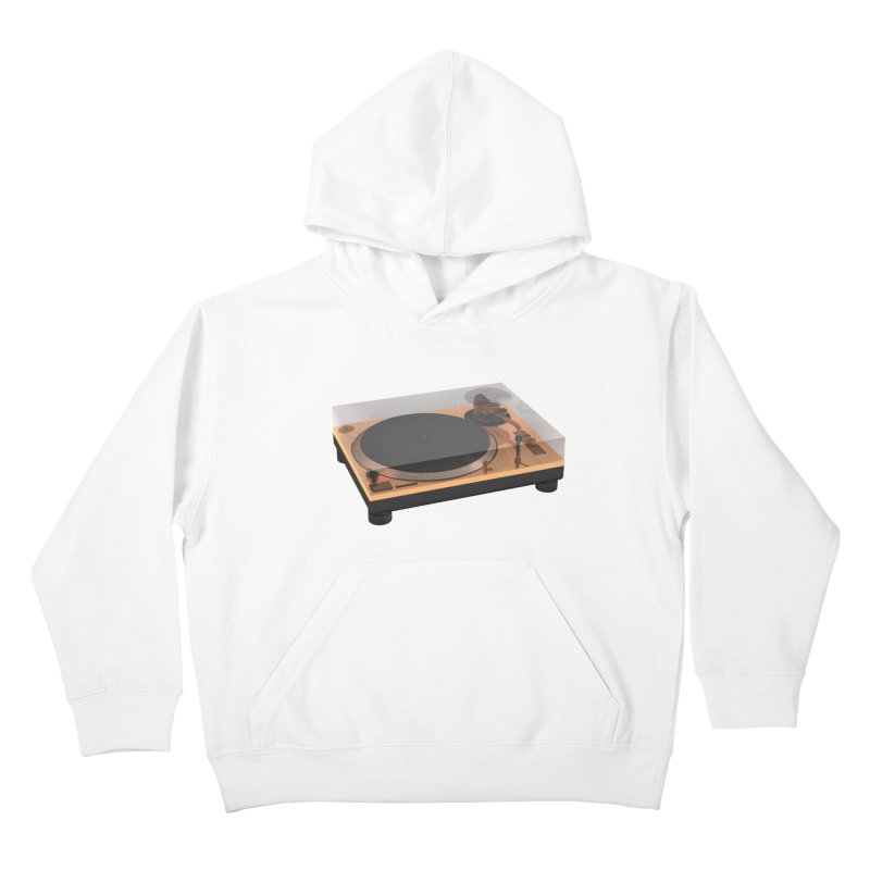 Golden Turntable Kids Pullover Hoody by Rickard Arvius