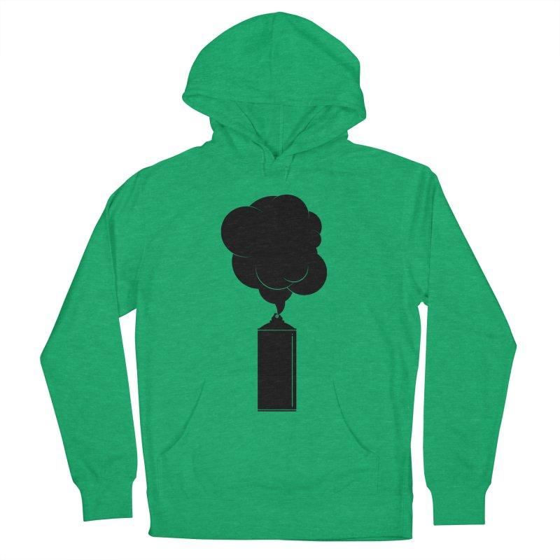 Art Supplies Black Men's Pullover Hoody by Rickard Arvius