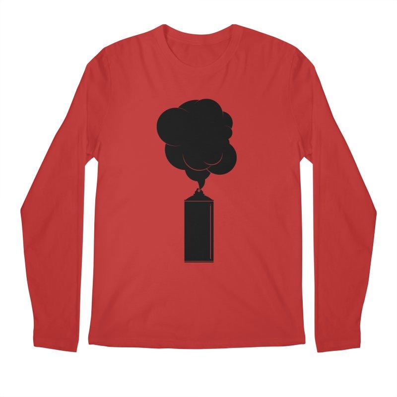 Art Supplies Black Men's Regular Longsleeve T-Shirt by Rickard Arvius