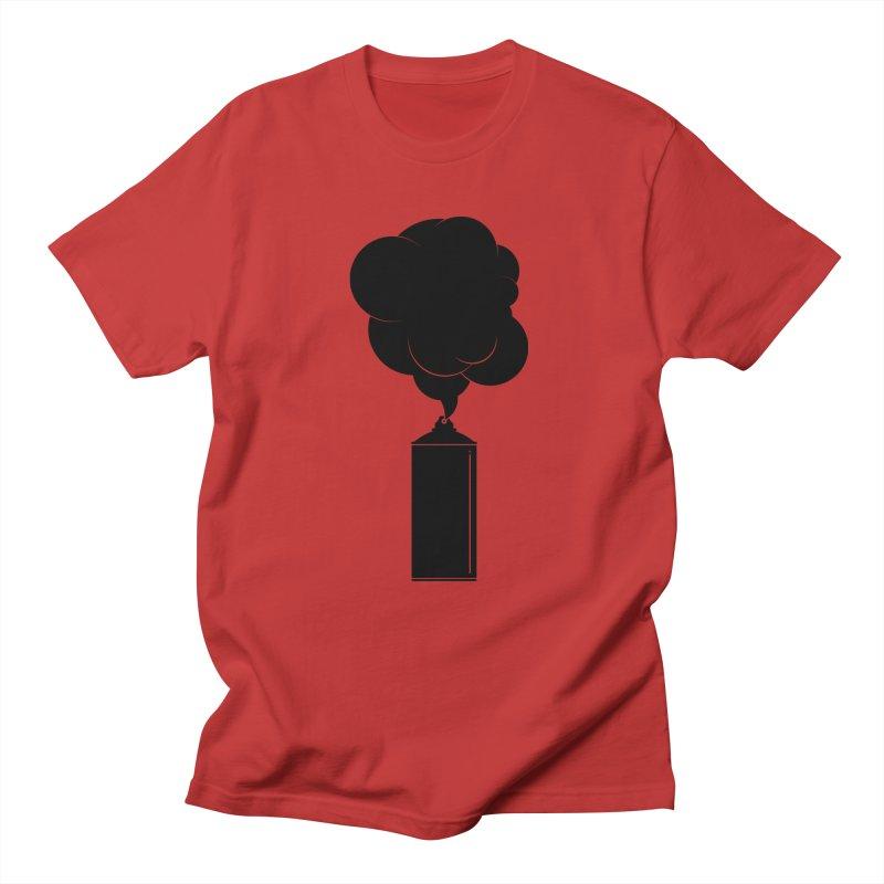 Art Supplies Black Men's T-Shirt by Rickard Arvius