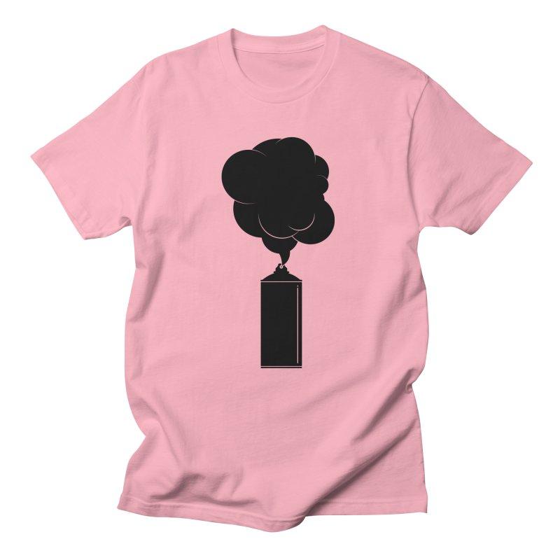 Art Supplies Black Men's Regular T-Shirt by Rickard Arvius