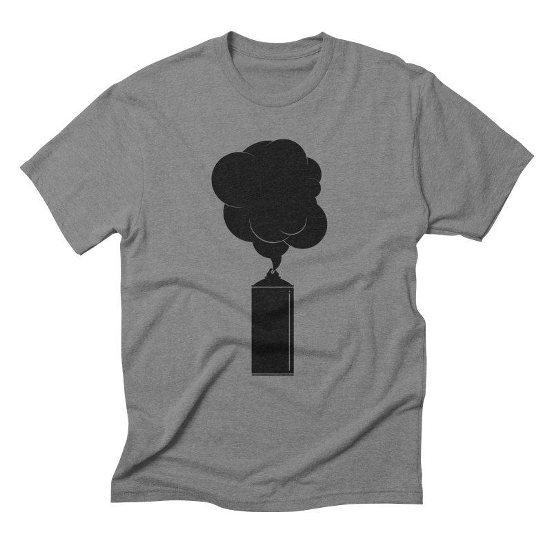 Art Supplies Black Men's Triblend T-Shirt by Rickard Arvius