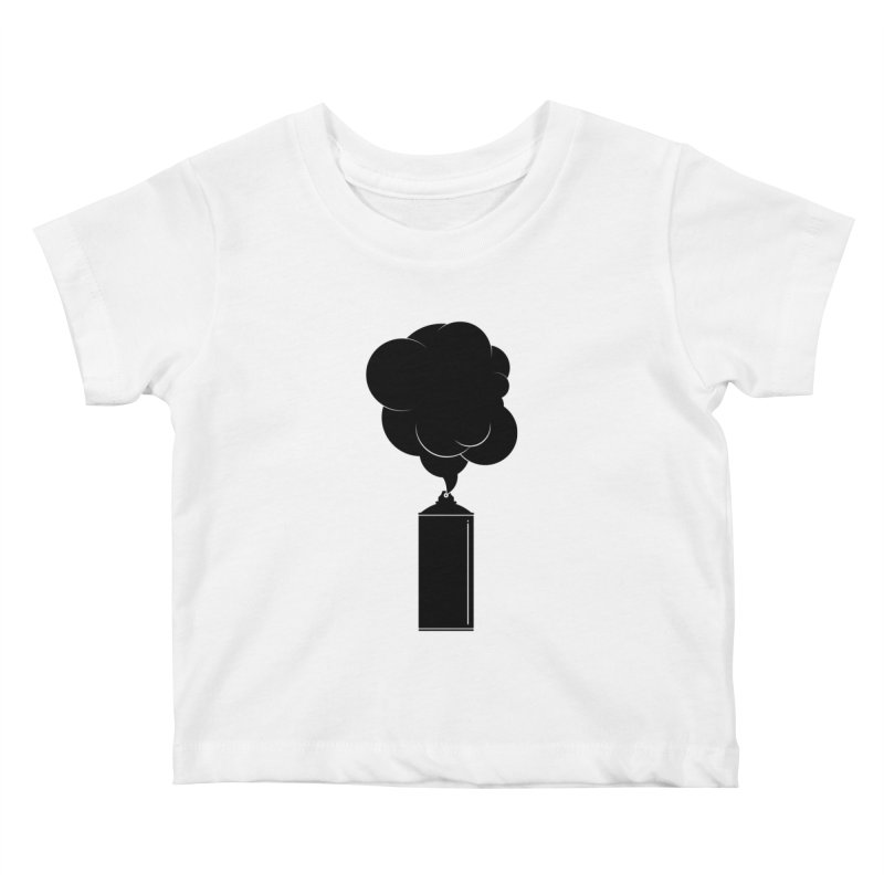 Art Supplies Black Kids Baby T-Shirt by Rickard Arvius