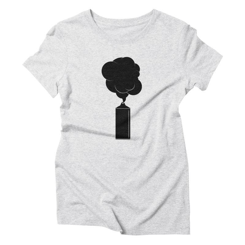 Art Supplies Black Women's T-Shirt by Rickard Arvius