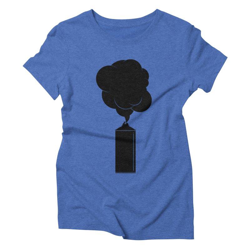 Art Supplies Black Women's Triblend T-Shirt by Rickard Arvius