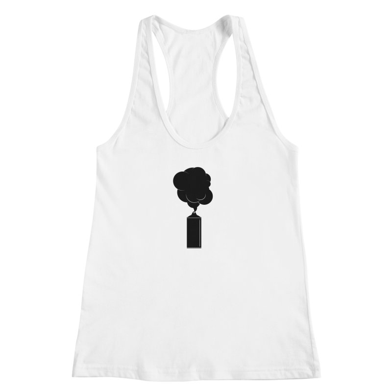 Art Supplies Black Women's Racerback Tank by Rickard Arvius