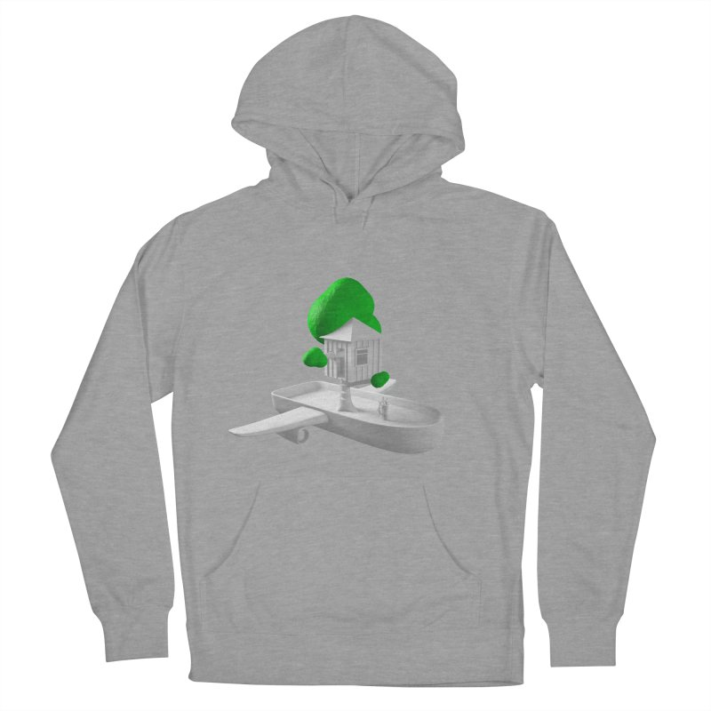 Tree House Boat Women's Pullover Hoody by Rickard Arvius