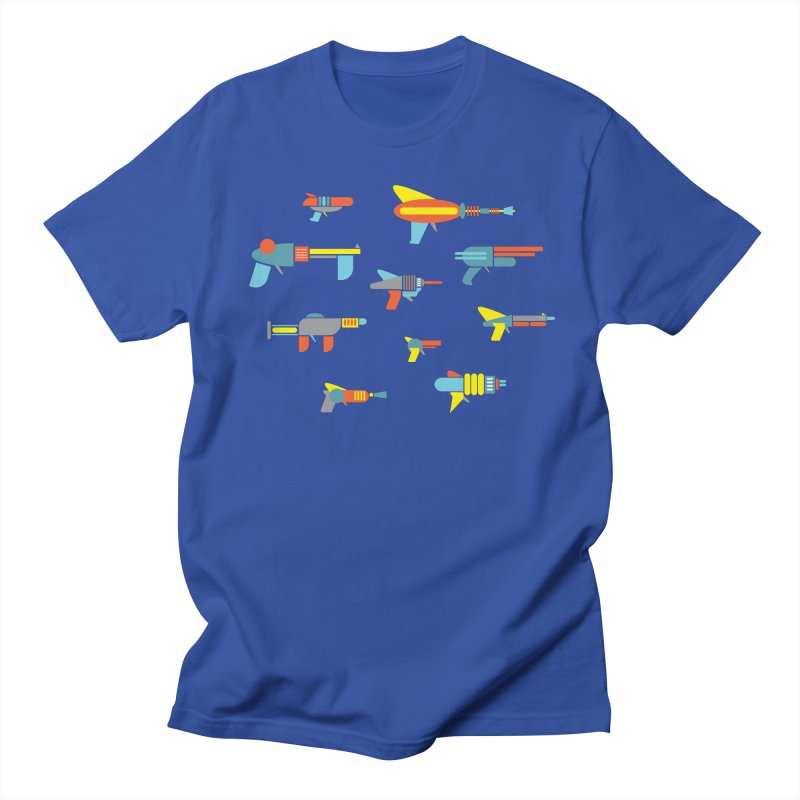 Space Guns in Space Men's T-shirt by Rick Hill Studio's Artist Shop
