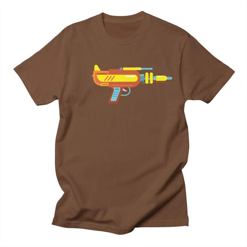 Space Gun One Men's T-Shirt by Rick Hill Studio's Artist Shop