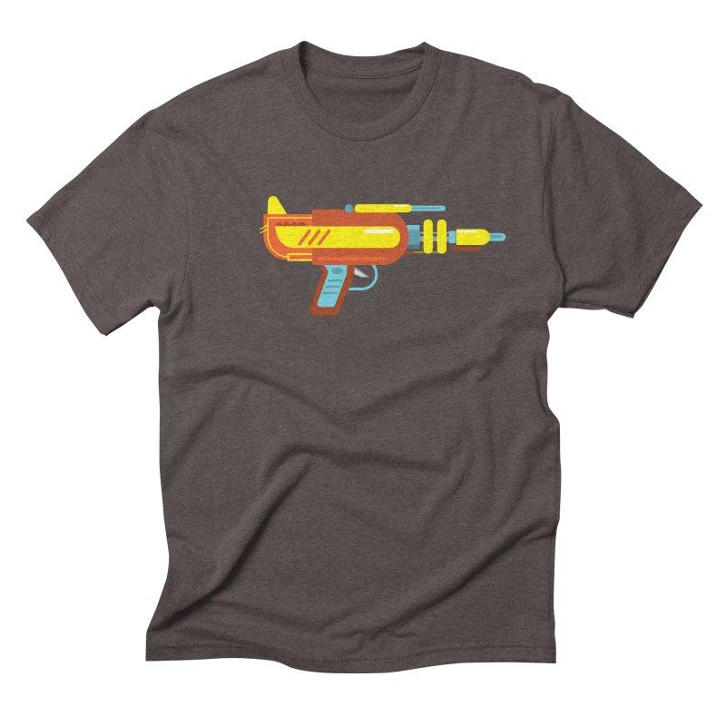 Space Gun One Men's Triblend T-Shirt by Rick Hill Studio's Artist Shop