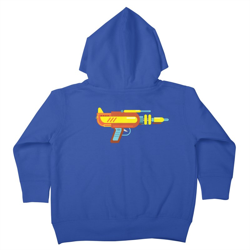 Space Gun One Kids Toddler Zip-Up Hoody by Rick Hill Studio's Artist Shop