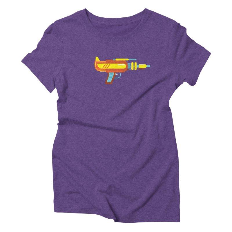 Space Gun One Women's Triblend T-Shirt by Rick Hill Studio's Artist Shop