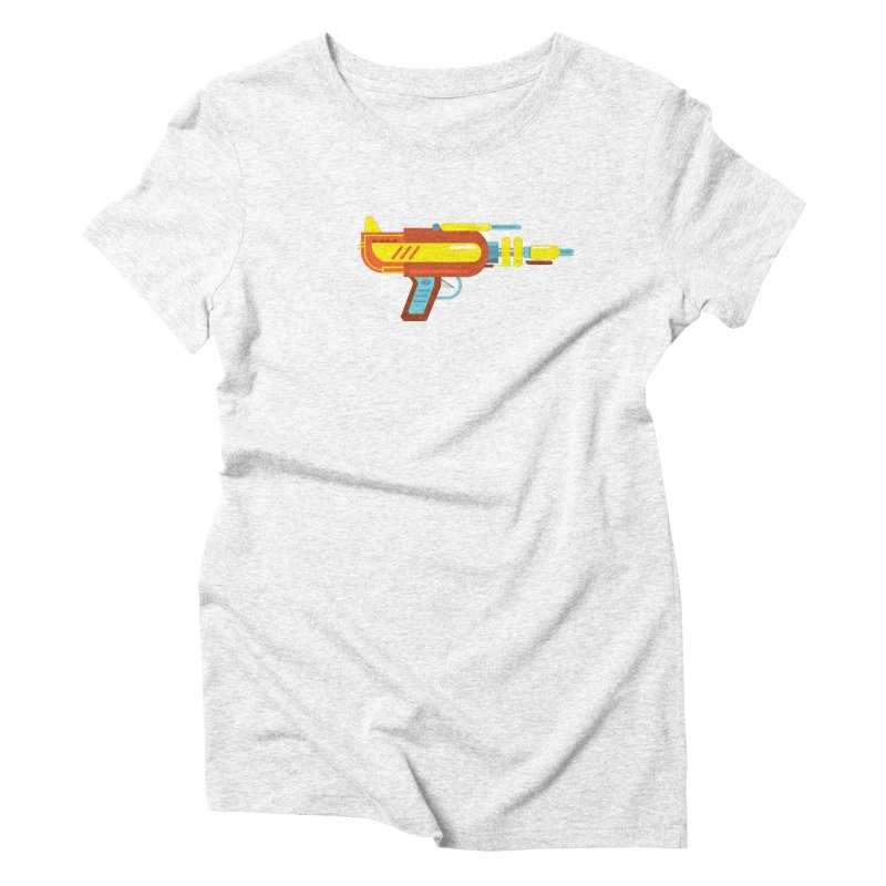 Space Gun One Women's Triblend T-shirt by Rick Hill Studio's Artist Shop