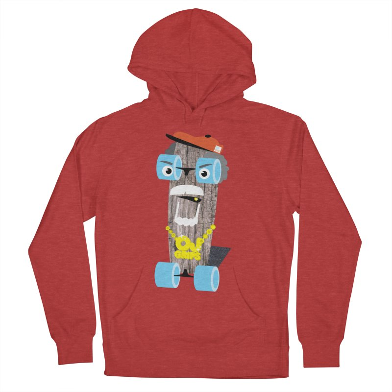 """OJ Grips aka """"Town Legend"""" Women's Pullover Hoody by Rick Hill Studio's Artist Shop"""
