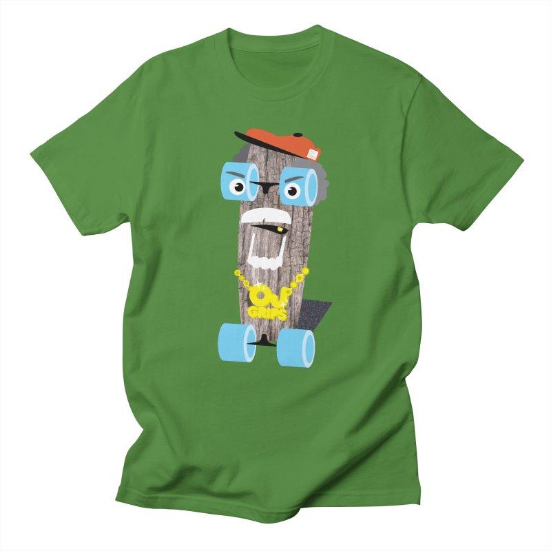 "OJ Grips aka ""Town Legend"" Men's T-Shirt by Rick Hill Studio's Artist Shop"