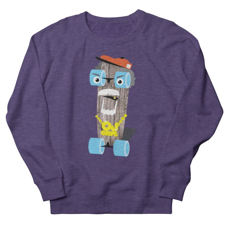 """OJ Grips aka """"Town Legend"""" Women's Sweatshirt by Rick Hill Studio's Artist Shop"""