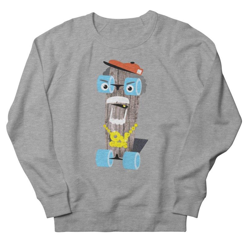"""OJ Grips aka """"Town Legend"""" Men's Sweatshirt by Rick Hill Studio's Artist Shop"""