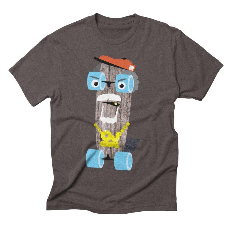 "OJ Grips aka ""Town Legend"" Men's Triblend T-shirt by Rick Hill Studio's Artist Shop"