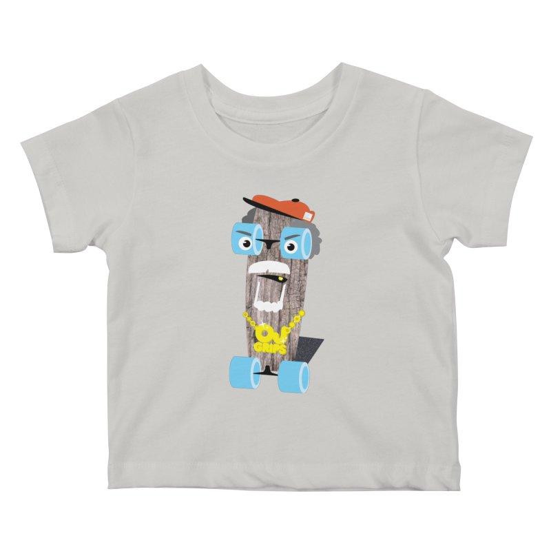 "OJ Grips aka ""Town Legend"" Kids Baby T-Shirt by Rick Hill Studio's Artist Shop"
