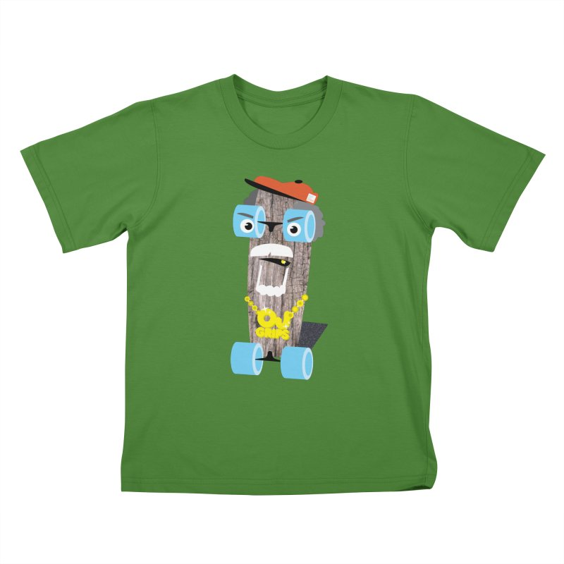 "OJ Grips aka ""Town Legend"" Kids T-Shirt by Rick Hill Studio's Artist Shop"