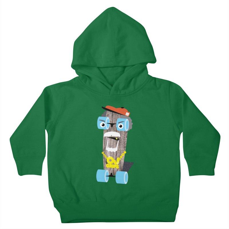 "OJ Grips aka ""Town Legend"" Kids Toddler Pullover Hoody by Rick Hill Studio's Artist Shop"
