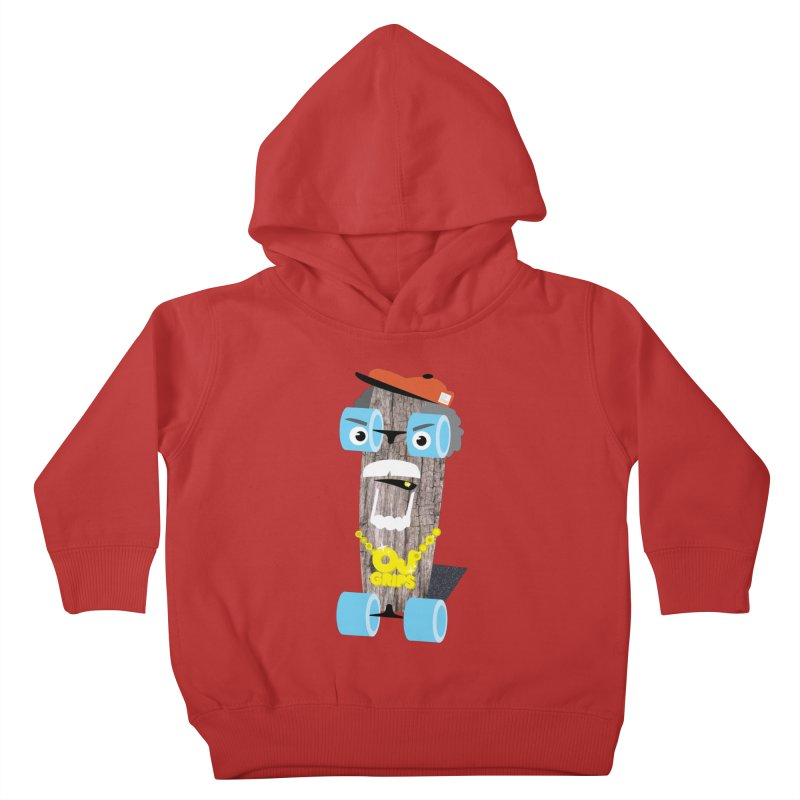 "OJ Grips aka ""Town Legend"" Kids Toddler Pullover Hoody by Rick Hill Studio's Artist Shop"