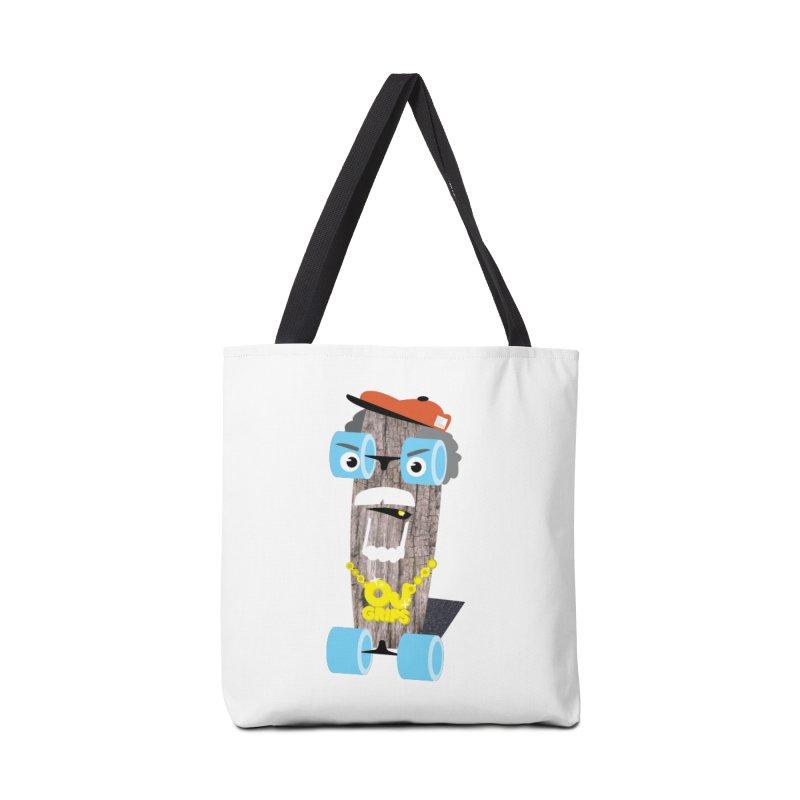 "OJ Grips aka ""Town Legend"" Accessories Tote Bag Bag by Rick Hill Studio's Artist Shop"