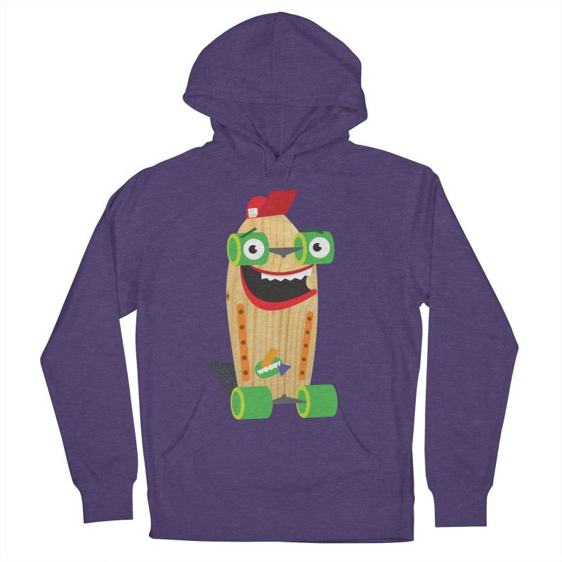 """Woody """"Good Time"""" Wheels Women's Pullover Hoody by Rick Hill Studio's Artist Shop"""