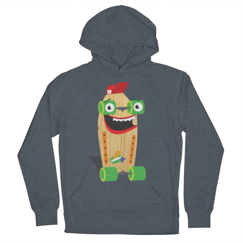 "Woody ""Good Time"" Wheels Men's Pullover Hoody by Rick Hill Studio's Artist Shop"