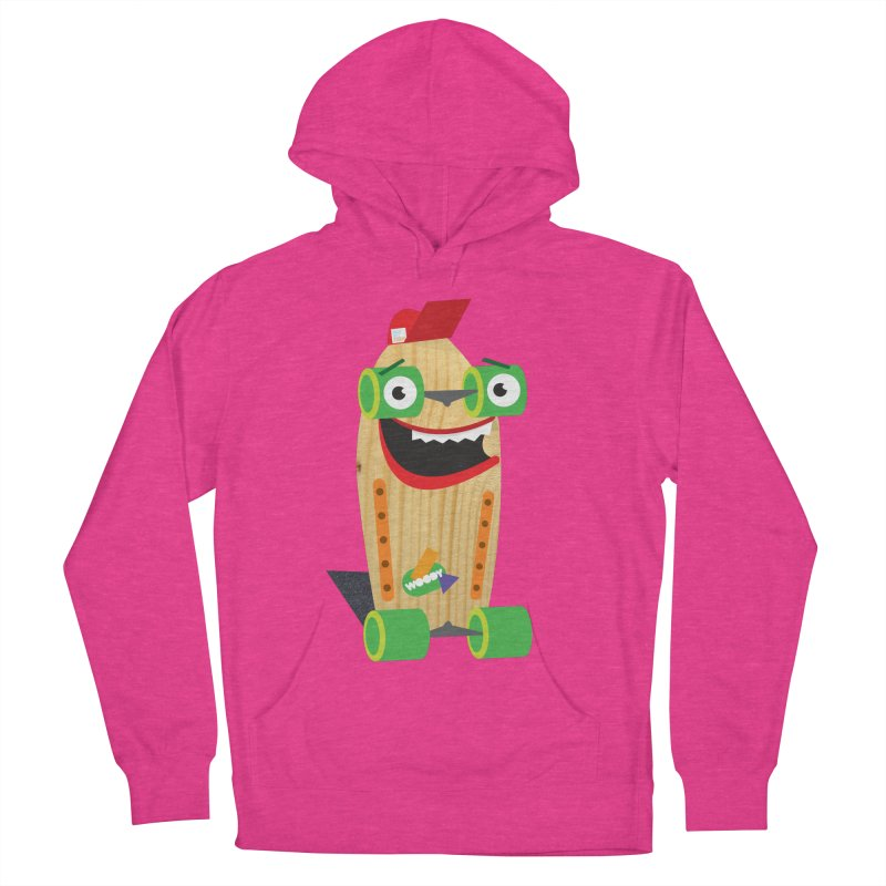 """Woody """"Good Time"""" Wheels Men's Pullover Hoody by Rick Hill Studio's Artist Shop"""