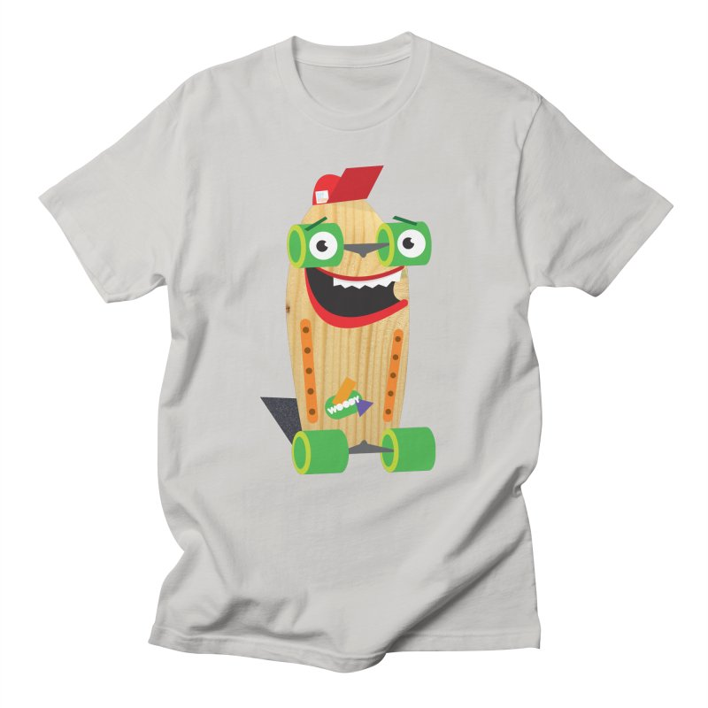"Woody ""Good Time"" Wheels Women's Regular Unisex T-Shirt by Rick Hill Studio's Artist Shop"