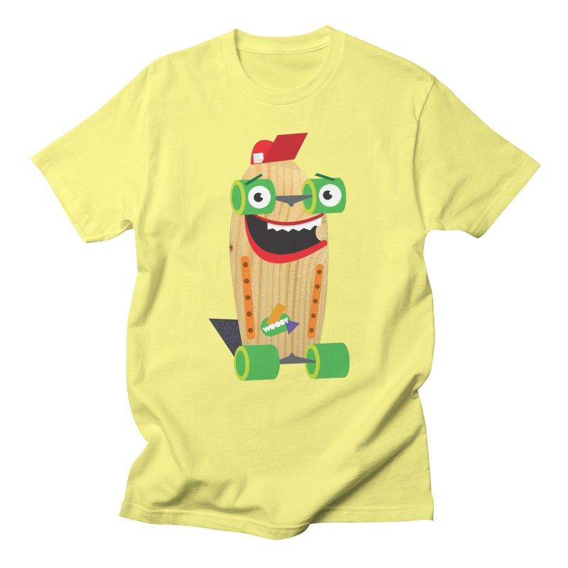 "Woody ""Good Time"" Wheels Women's Regular Unisex T-Shirt by Rick Hill Studio's Artist Shop"