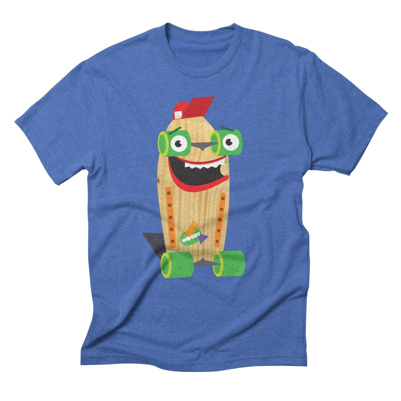 "Woody ""Good Time"" Wheels Men's Triblend T-Shirt by Rick Hill Studio's Artist Shop"