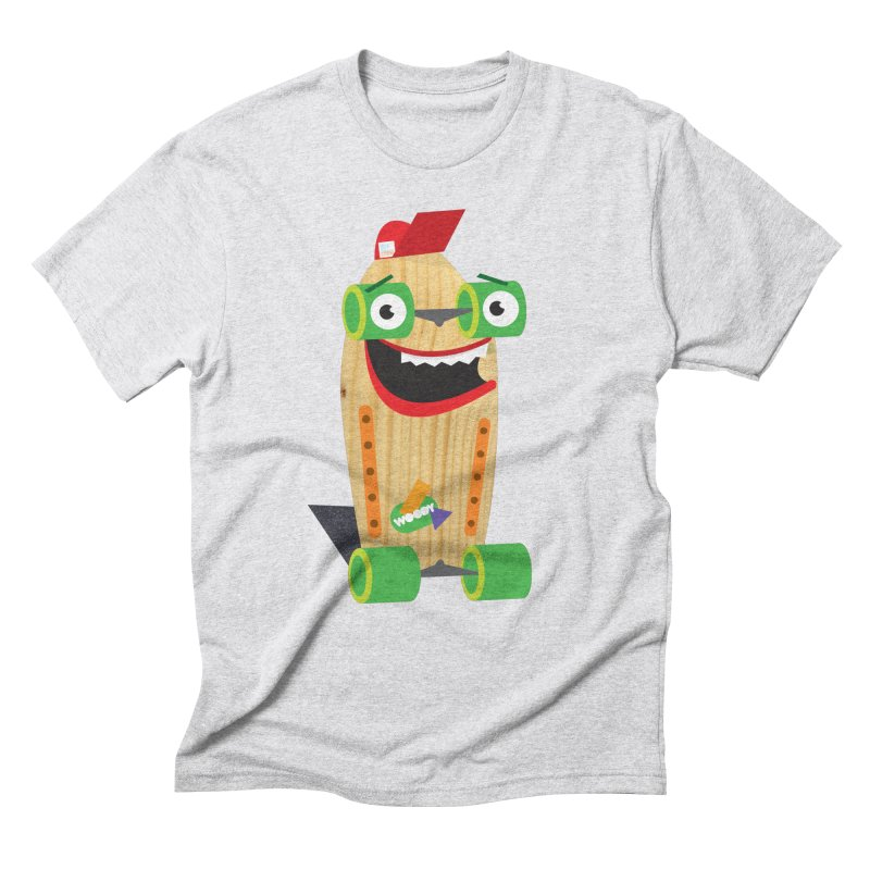 "Woody ""Good Time"" Wheels Men's Triblend T-Shirt by Rick Hill Studio's Artist Shop"