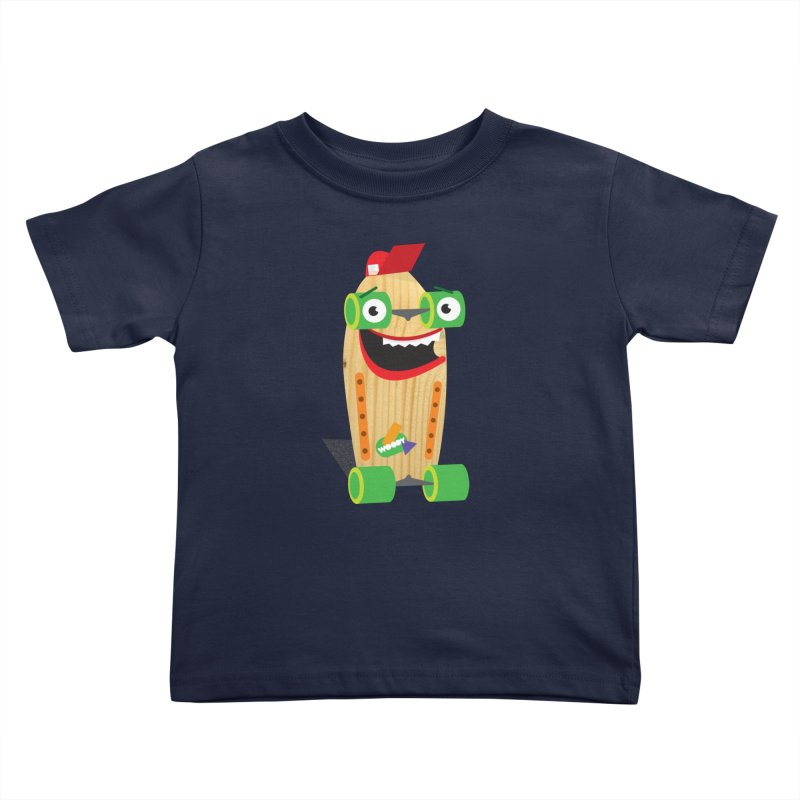 "Woody ""Good Time"" Wheels Kids Toddler T-Shirt by Rick Hill Studio's Artist Shop"