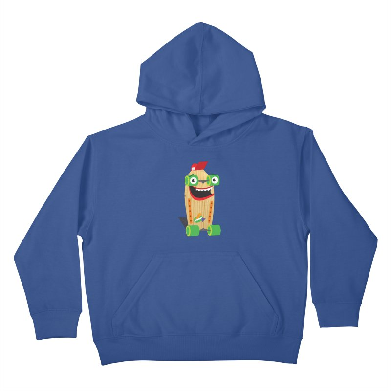 "Woody ""Good Time"" Wheels Kids Pullover Hoody by Rick Hill Studio's Artist Shop"