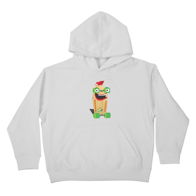 """Woody """"Good Time"""" Wheels Kids Pullover Hoody by Rick Hill Studio's Artist Shop"""