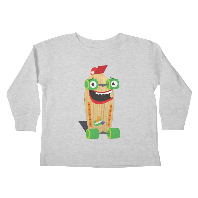 "Woody ""Good Time"" Wheels Kids Toddler Longsleeve T-Shirt by Rick Hill Studio's Artist Shop"