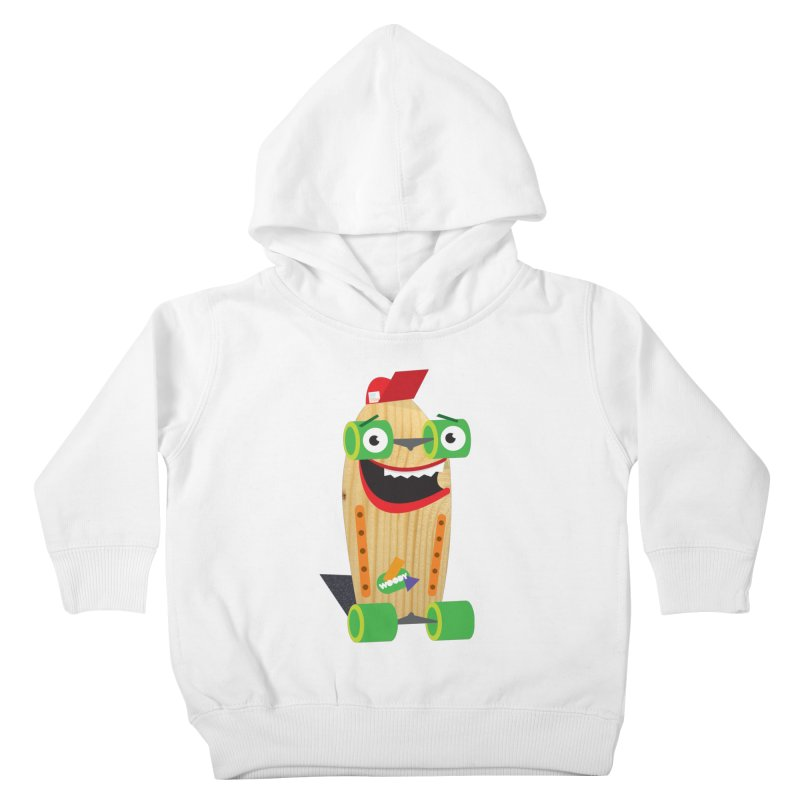 "Woody ""Good Time"" Wheels Kids Toddler Pullover Hoody by Rick Hill Studio's Artist Shop"