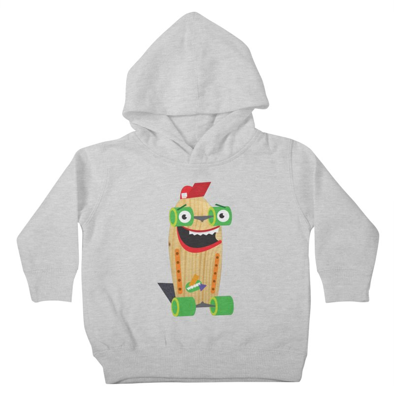 """Woody """"Good Time"""" Wheels Kids Toddler Pullover Hoody by Rick Hill Studio's Artist Shop"""
