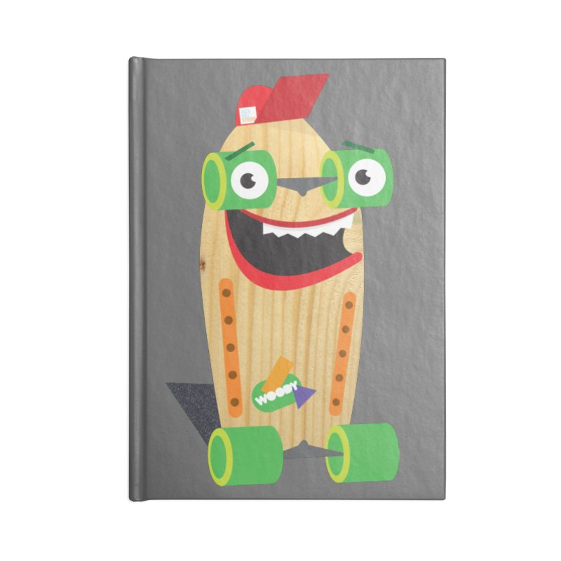 "Woody ""Good Time"" Wheels Accessories Notebook by Rick Hill Studio's Artist Shop"