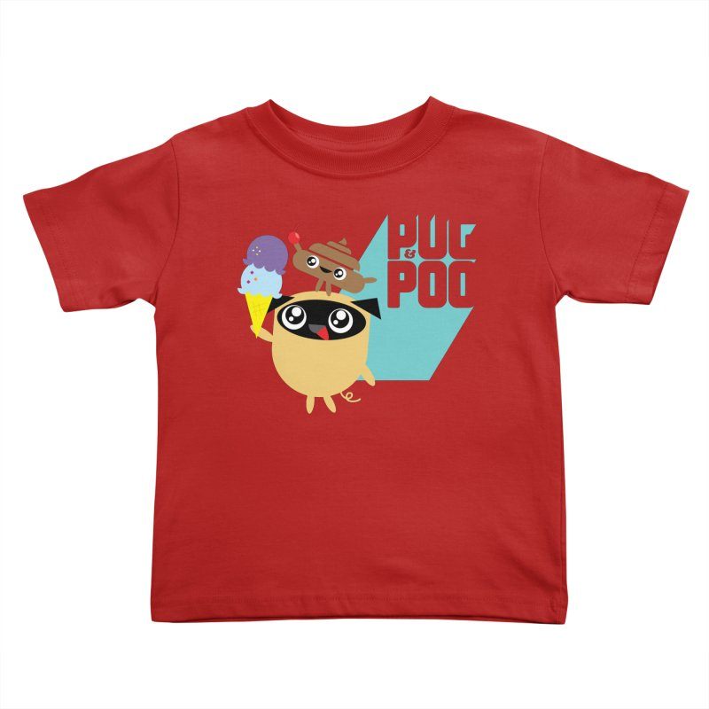 Cherry On Top Kids Toddler T-Shirt by Rick Hill Studio's Artist Shop