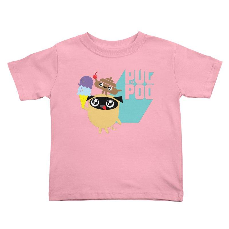 Cherry On Top Kids Toddler T-Shirt by Rick Hill Studio's Artist Shop