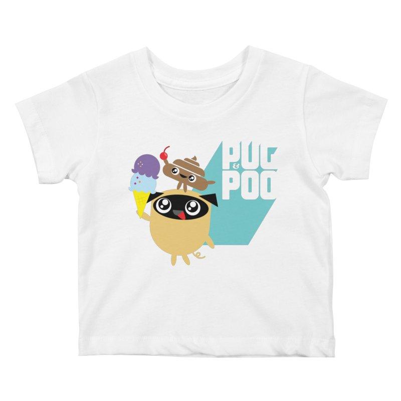 Cherry On Top Kids Baby T-Shirt by Rick Hill Studio's Artist Shop