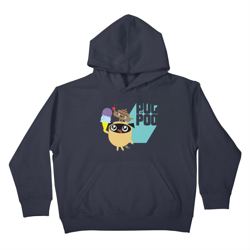 Cherry On Top Kids Pullover Hoody by Rick Hill Studio's Artist Shop